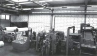 Factory synthetic rubber membranes Kampen (NL), 1968