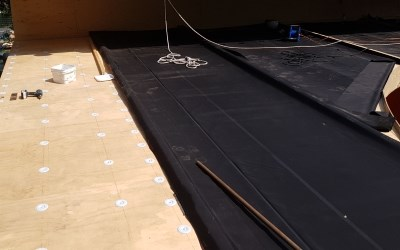 Circulair EPDM roofing used by project LINQ | Hertalan com