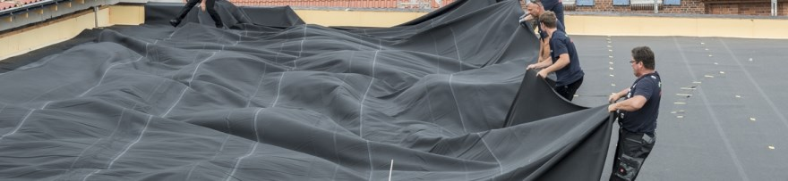 EPDM as a roof cover | HERTALAN®